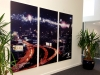 Printed image finished with a matt laminate and mounted on 10mm expanded pvc panels