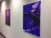 Production images, digitally printed and mounted on expanded pvc panels