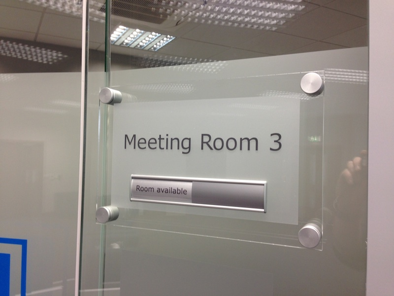 Meeting Room Name Plaques