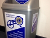 Labels for Lions Club collection bins