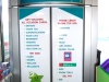 Digitally printed images applied to doors of display unit