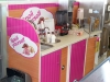 Full colour images produced and applied shop unit