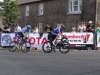 Mullingar's Damien Shaw dragging Dan Martin up through Multy village in a two man break