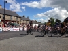 2014 Irish National Cycling Championships Elite Men's race start in Multyfarnham village