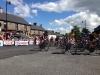 2014 Irish National Cycling Championships Elite Men's race start in Multyfarnham village
