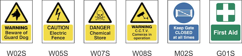FARM SAFETY SIGNS S