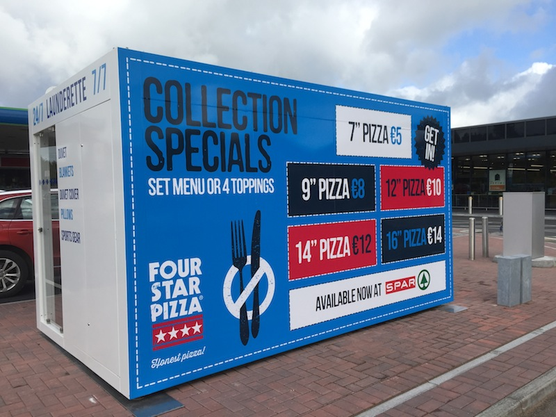 Our FOUR STAR PIZZA branding is delivering for McIntyre's Spar